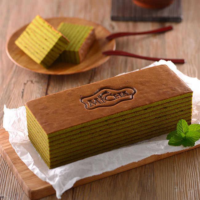 米迦 靜岡抺茶千層蛋糕(蛋奶素)430±50g