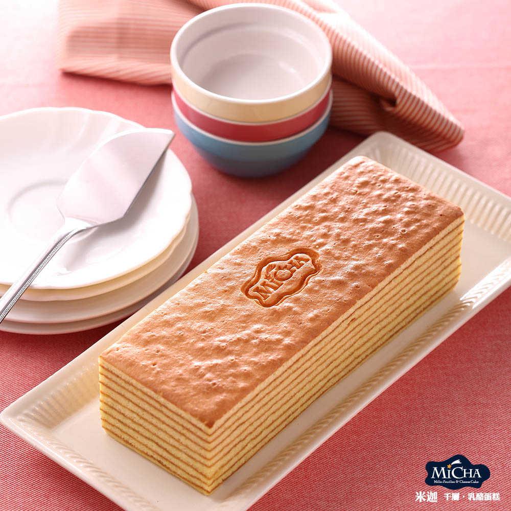 米迦 蜂蜜千層蛋糕(蛋奶素)430±50g