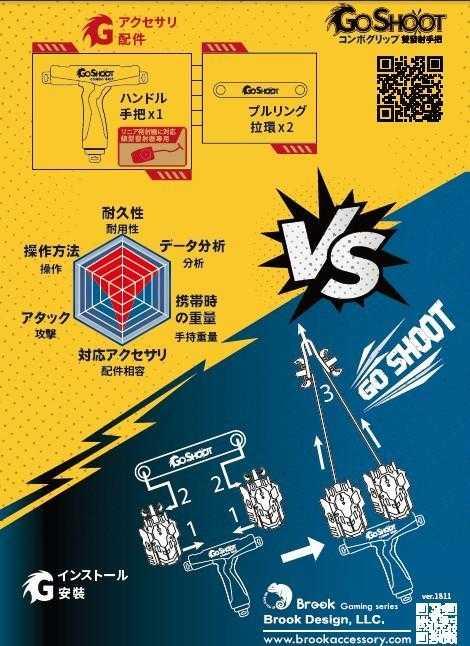 GoShoot 雙發射手把 專利設計 戰鬥陀螺 雙發射握把 一個人對打 鳳凰 巨神 超Z戰神