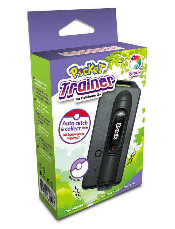 BROOK POCKET 二代自動抓寶手環Plus 精靈寶可夢 寶可夢手環 加長續航力 指南針手電筒