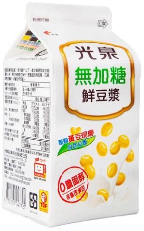 光泉鮮豆漿原味/無加糖400ML-全家預售商品