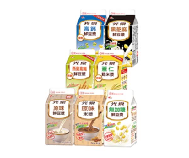 萊爾富【雲端超商】光泉豆米漿系列7款任選-限期免運跨店領取