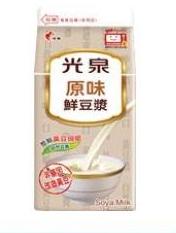 【全家預售】光泉原味鮮豆漿400ml-無期限免運跨店領取