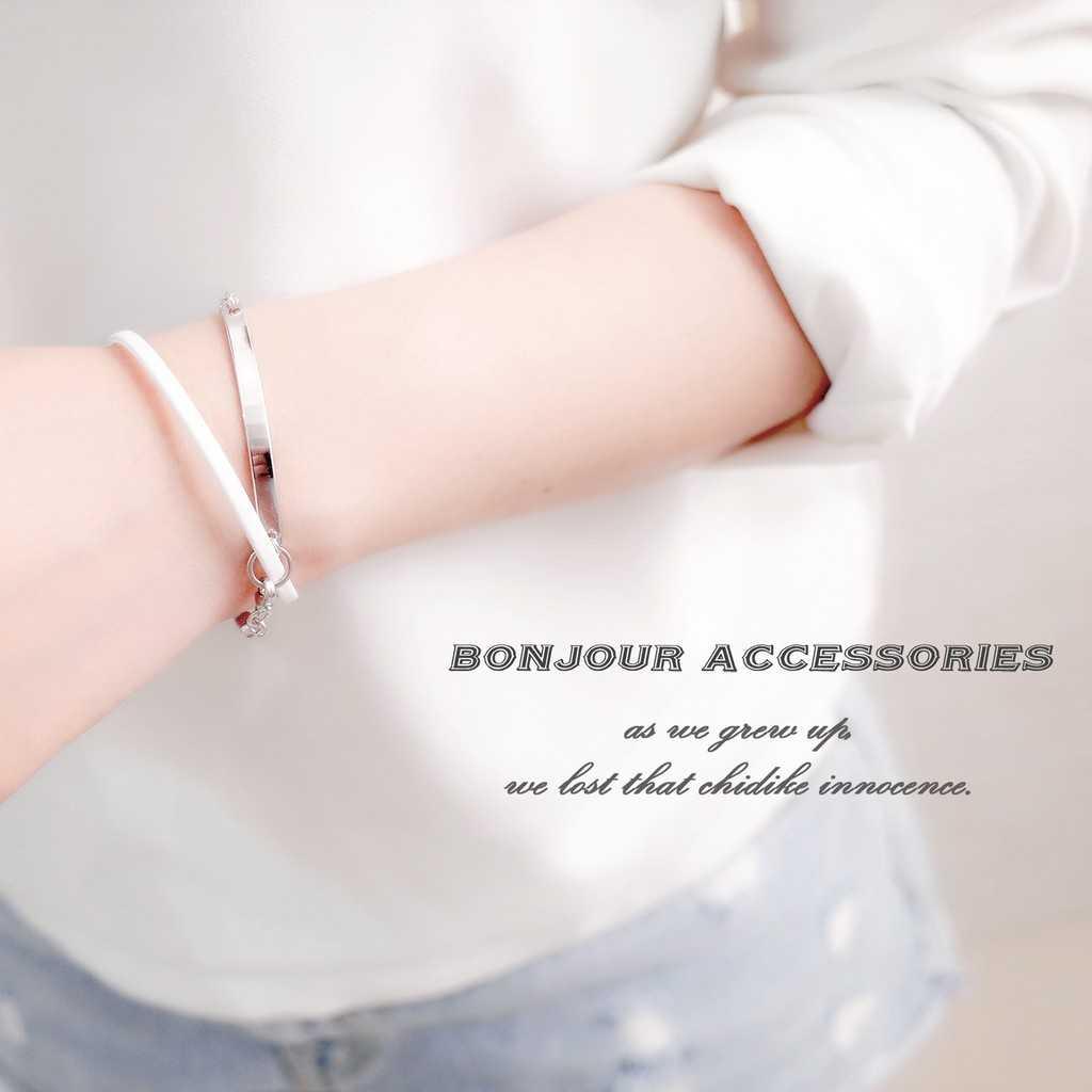 【Bonjouracc】韓國纏繞雙層 手鍊