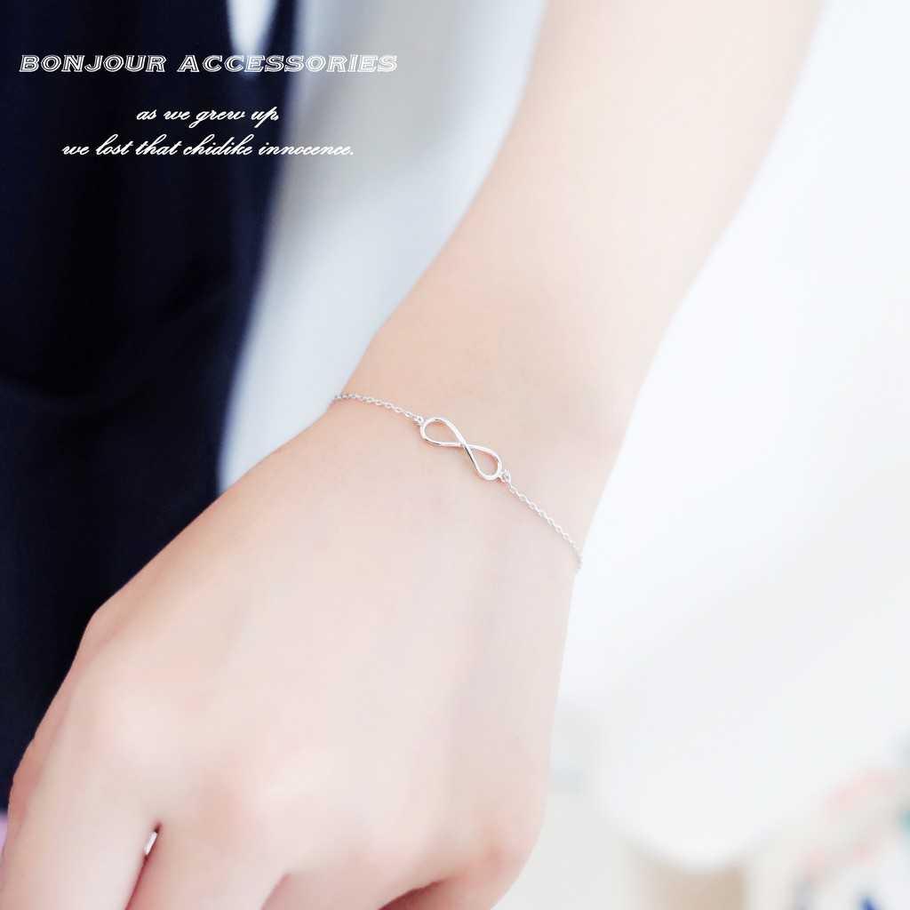 【Bonjouracc】韓國無限符號 手鍊 項鍊 耳環 閨蜜款 項鏈