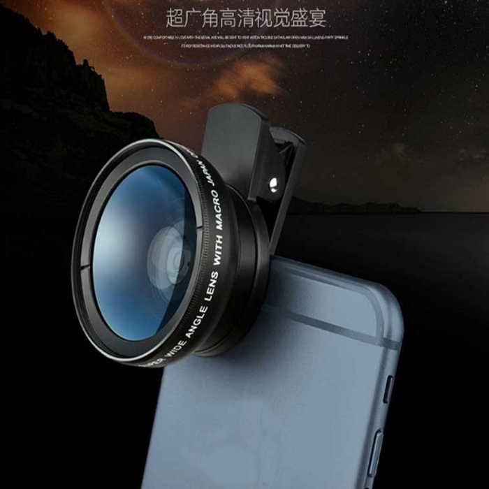 廣角鏡 超大廣角0.45X 微距 二合一鏡頭 手機鏡頭 鏡頭 自拍神器 手機鏡頭夾