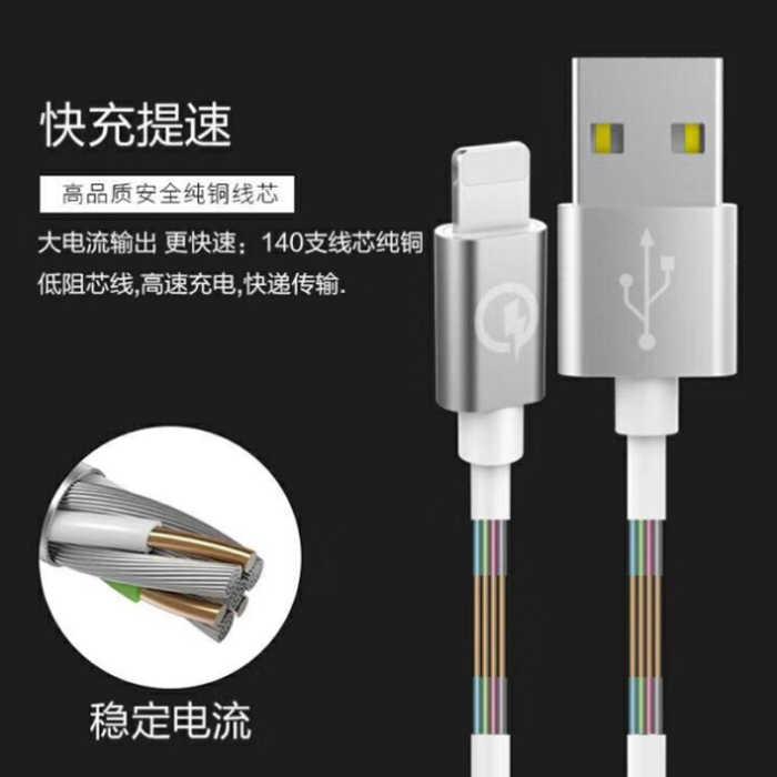 5A大電流閃充線 MicroUSB TypeC iPhone 傳輸充電線 數據線 高速充電線充電線