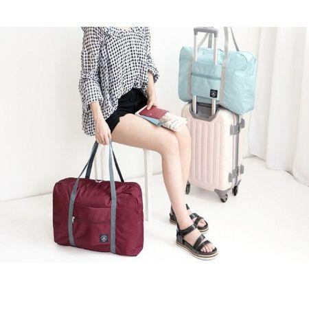行李拉桿包 可登機 超大容量 收納袋 可折疊 大容量旅行袋 行李箱 旅行收納 出國必備【RB426】