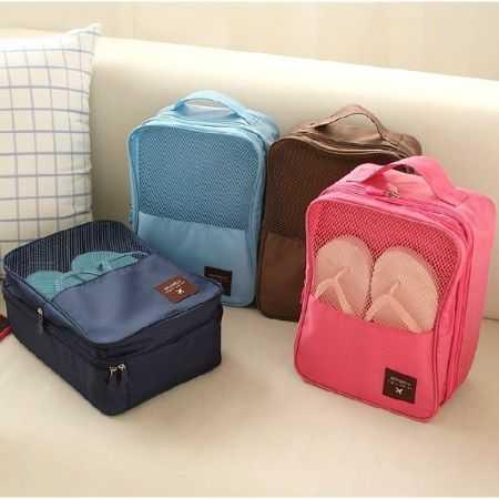 鞋收納包 旅遊收納包 防水 旅行 露營 出國必備【RB315】