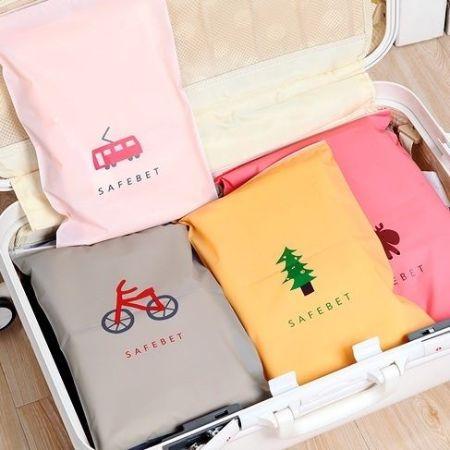 韓國 SAFEBET 旅行 多功能 夾鏈袋 防潑水 收納袋 行李箱 旅行收納袋 資料夾【RB377】