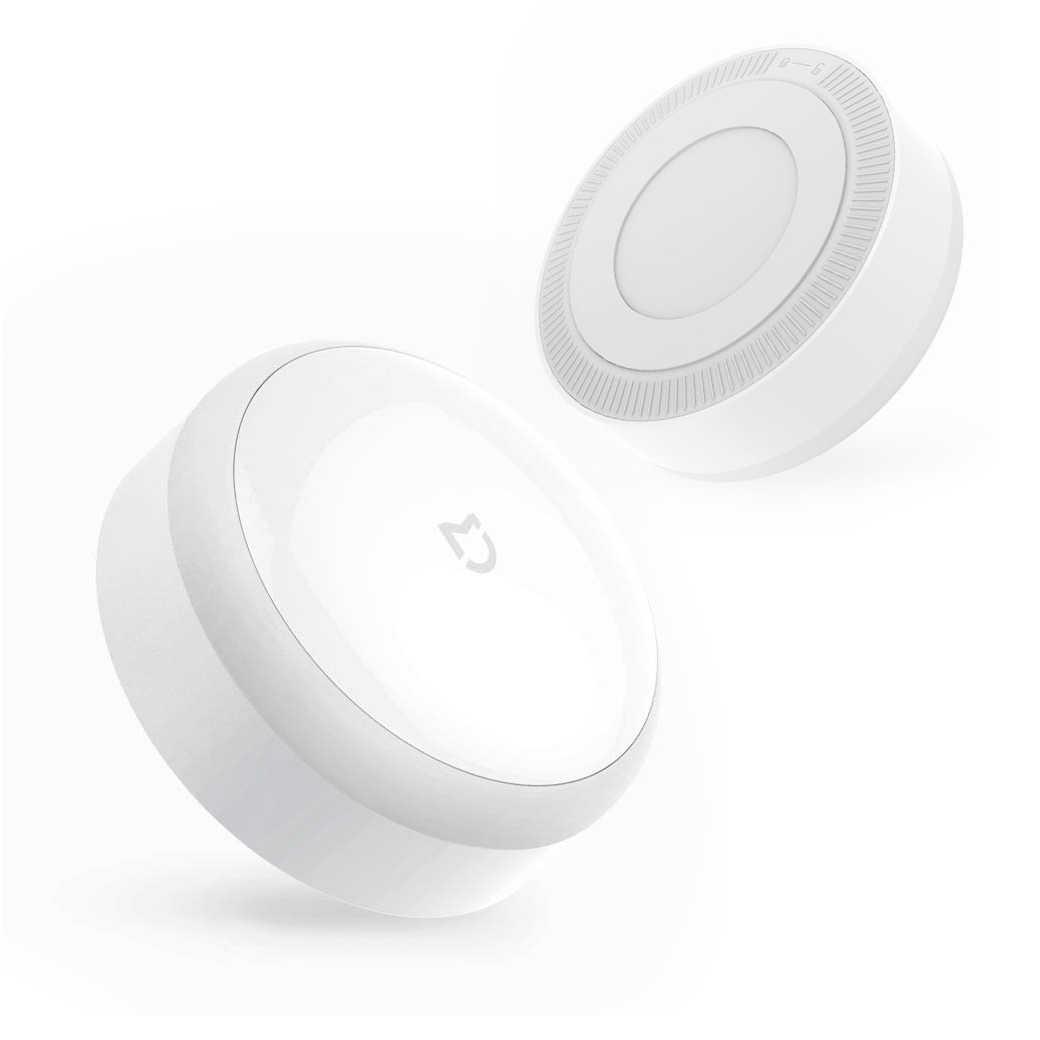 【米家感應夜燈】小夜燈 壁燈 可調亮度 光敏+紅外線感應 人體感應 床頭燈 超低功耗 可貼可掛