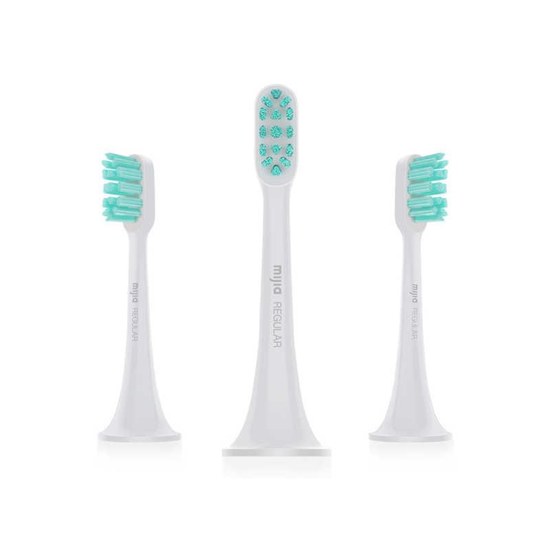 【Mi小米】聲波電動牙刷頭 - 通用型3支裝 無銹無金屬植毛