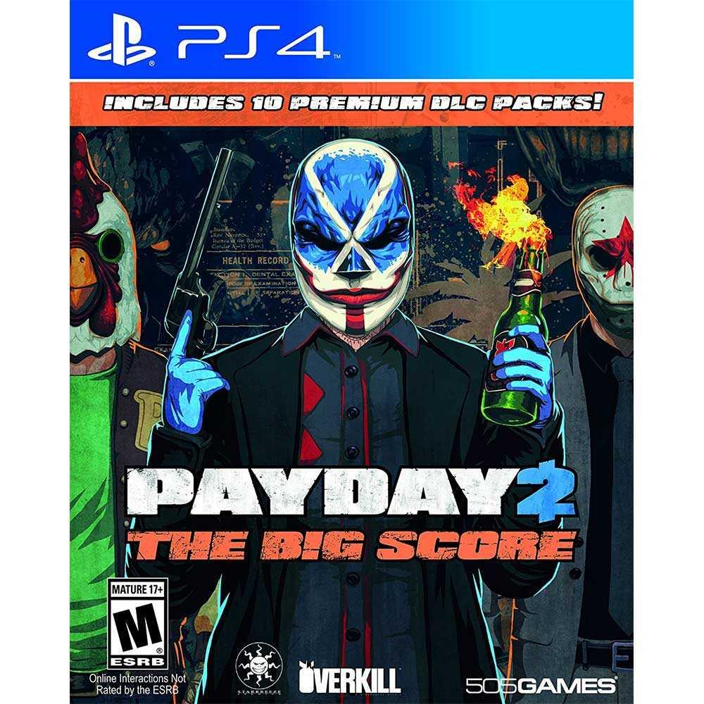 (現貨全新) PS4 劫薪日 2 大幹一票 英文美版 Payday 2: The Big Score
