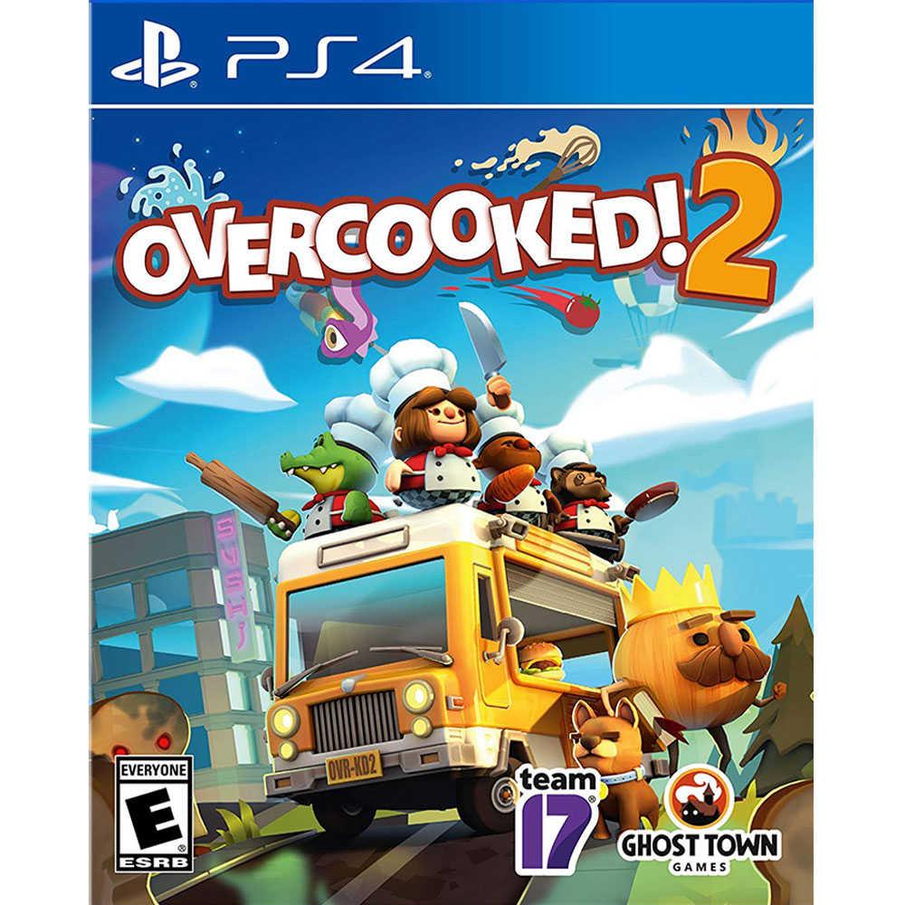 (現貨全新) PS4 煮過頭 2 中英文美版 OVERCOOKED 2【一起玩】