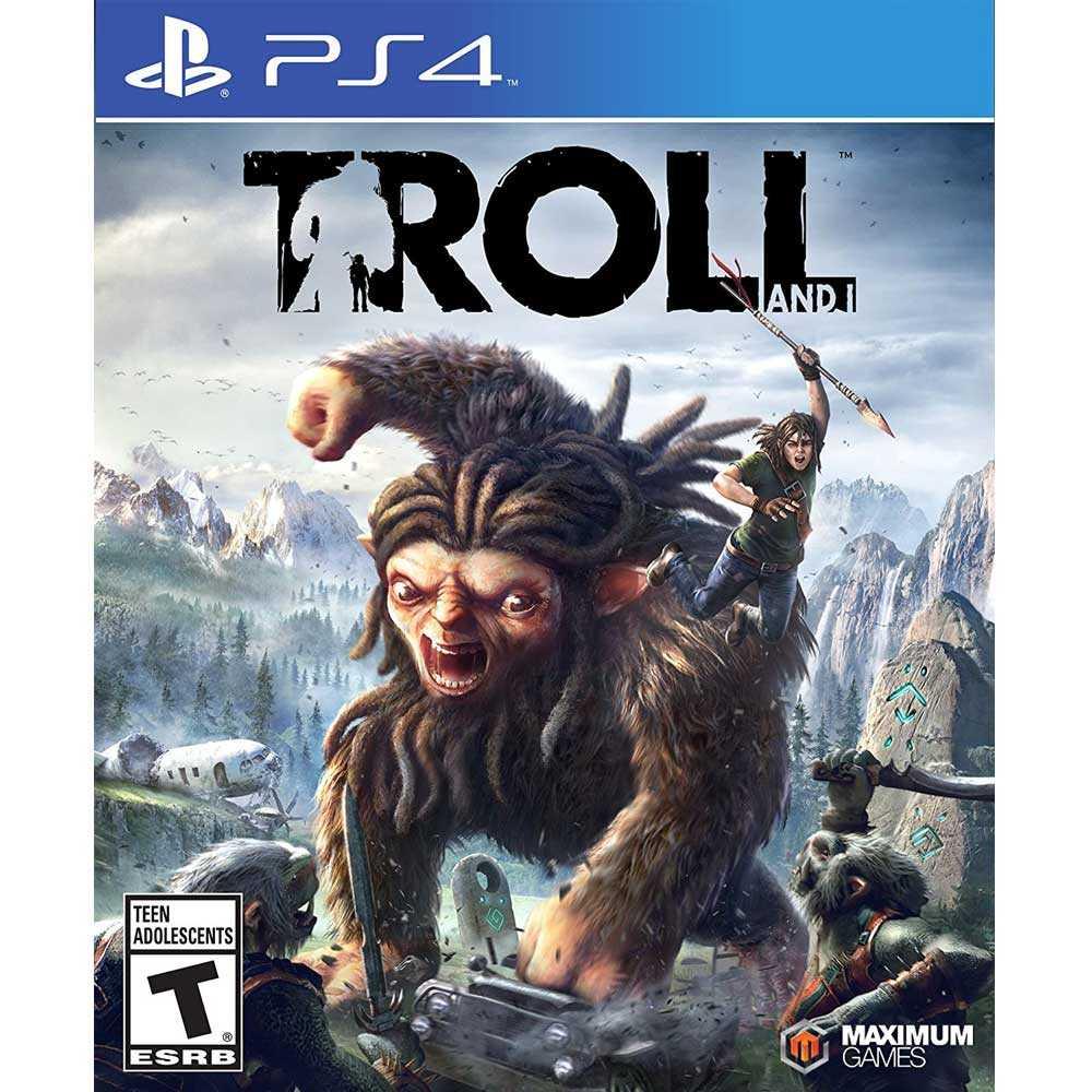 (現貨全新) PS4 巨魔與我 英文美版 Troll & I【一起玩】