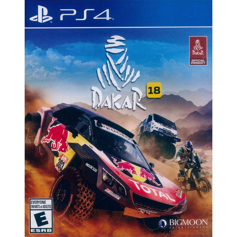 (現貨全新) PS4 達卡拉力賽 18 英文美版 Dakar 18【一起玩】