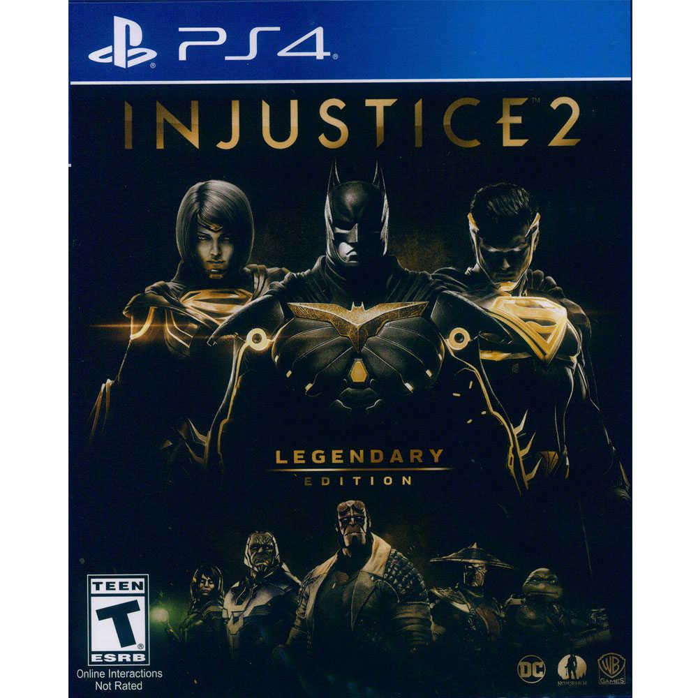 (現貨全新) PS4 超級英雄 2 傳奇版 英文美版 Injustice 2 Legendary E