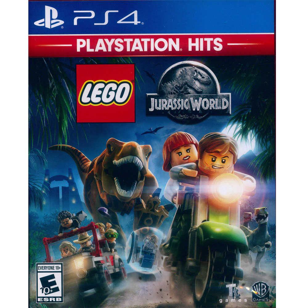 (現貨全新) PS4 樂高:侏儸紀世界 英文美版 (附贈道具密碼表) LEGO JURASSIC W