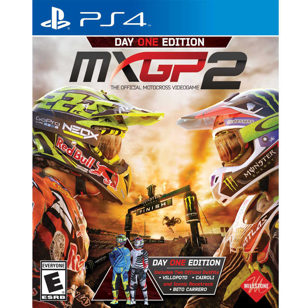 (現貨全新) PS4 世界摩托車越野錦標賽 2 英文美版 MXGP 2 The Official