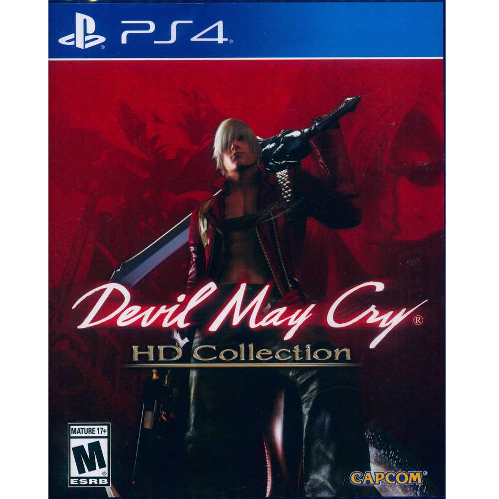 (現貨全新) PS4 惡魔獵人 HD 合輯 中英日文美版 Devil May Cry HD Coll