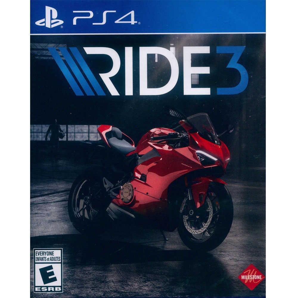 (現貨全新) PS4 極速騎行 3 英文美版 RIDE 3【一起玩】