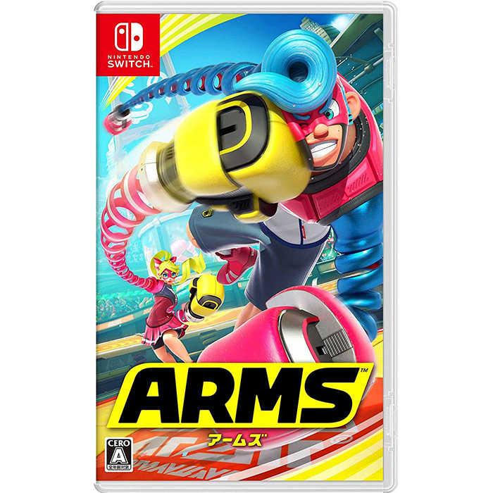 預購排單中 Switch NS 神臂鬥士 ARMS 中英文版  支援體感揮拳操作【AS電玩】