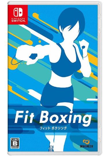 【現貨】 Switch NS 健身拳擊 Fit Boxing 減重拳擊 中英文版