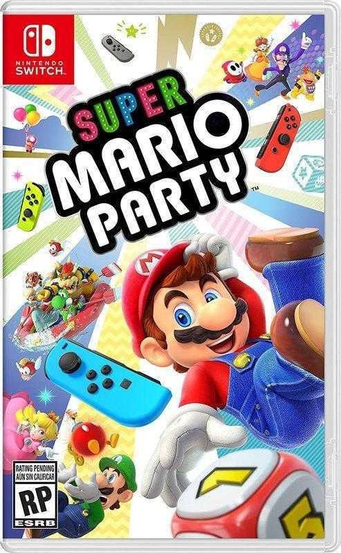 預購排單 Switch NS 超級瑪利歐派對 中英文版  Mario Party 馬力歐【AS電玩】