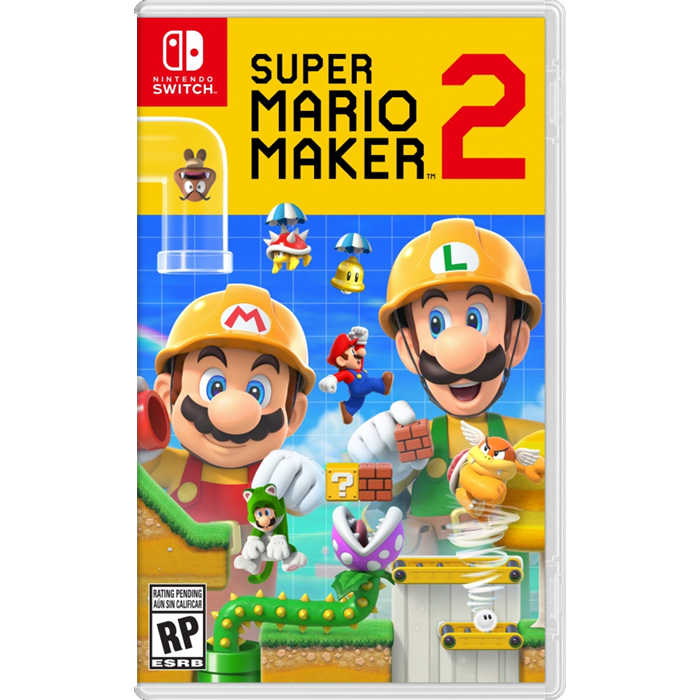 【現貨】Switch NS 超級瑪利歐創作家 2《中文版》2019年6月28發售