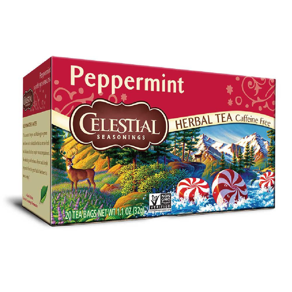 【Celestial Seasonings】美國原裝進口 薄荷茶 (20入環保包)