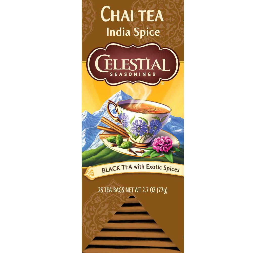 【Celestial Seasonings】美國原裝進口 印度香料茶 (25入獨立包)