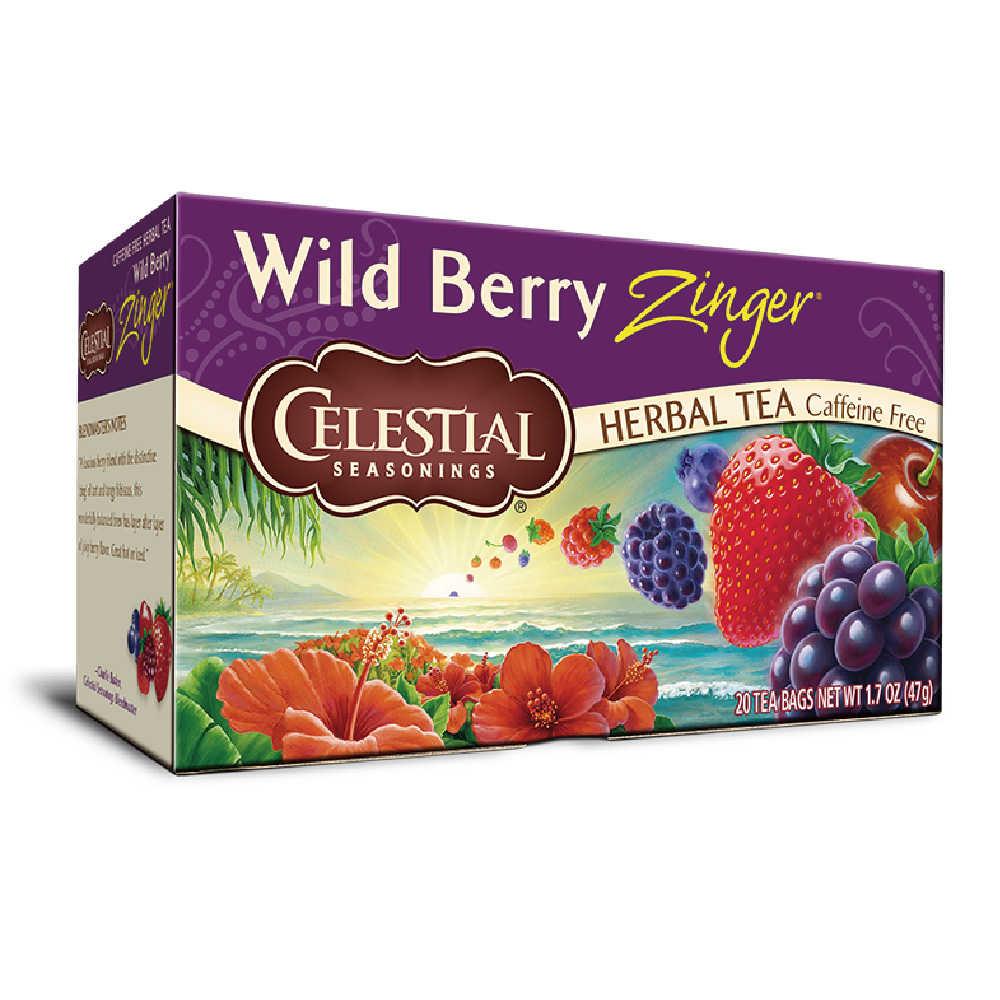 【Celestial Seasonings】美國原裝進口 野莓活力茶® (20入環保包)