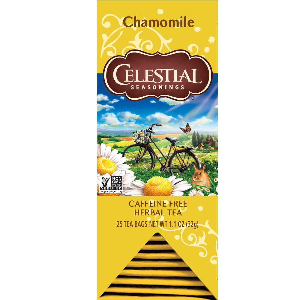 【Celestial Seasonings】美國原裝進口 洋甘菊茶 (25入獨立包)