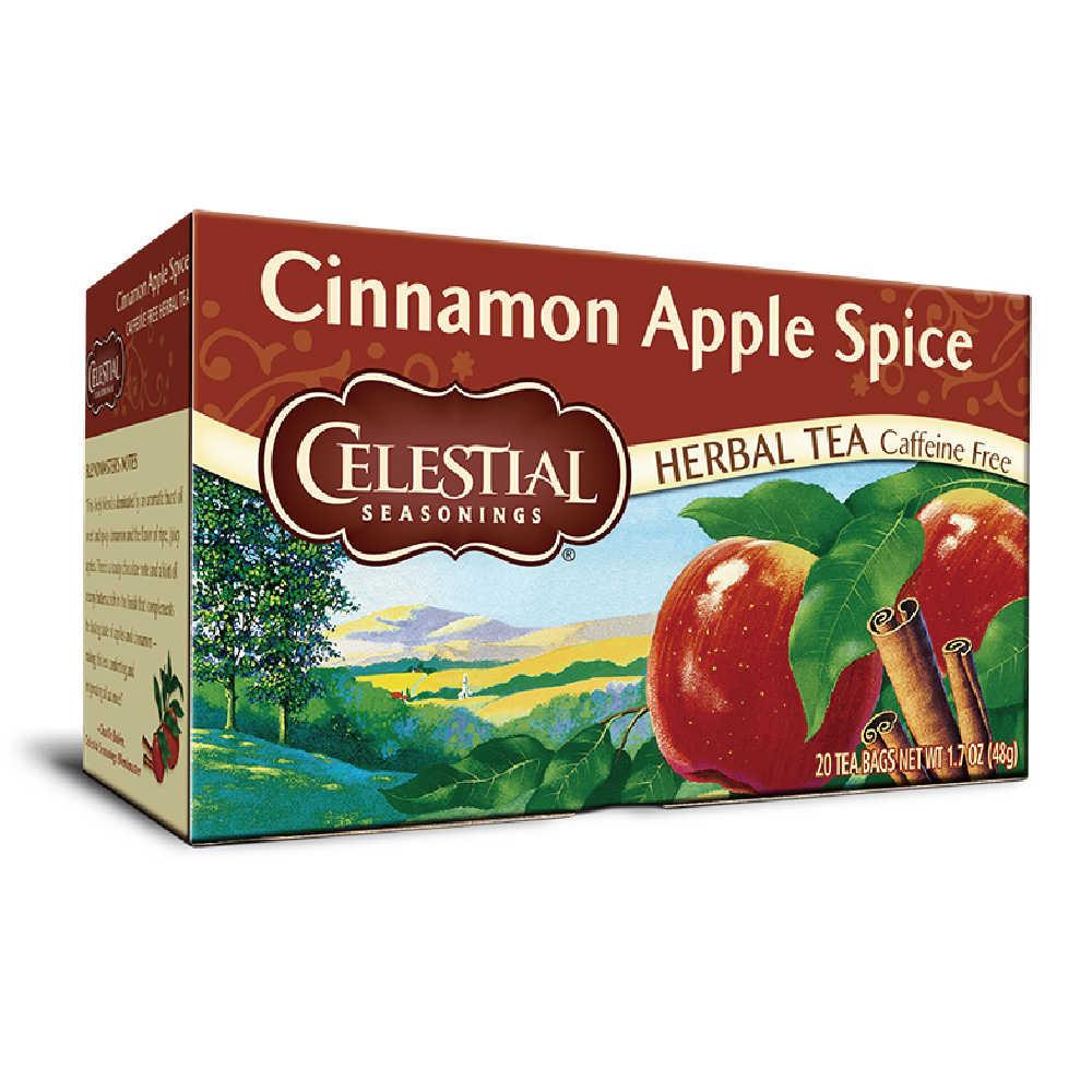 【Celestial Seasonings】美國原裝進口 蘋果肉桂茶 (20入環保包)