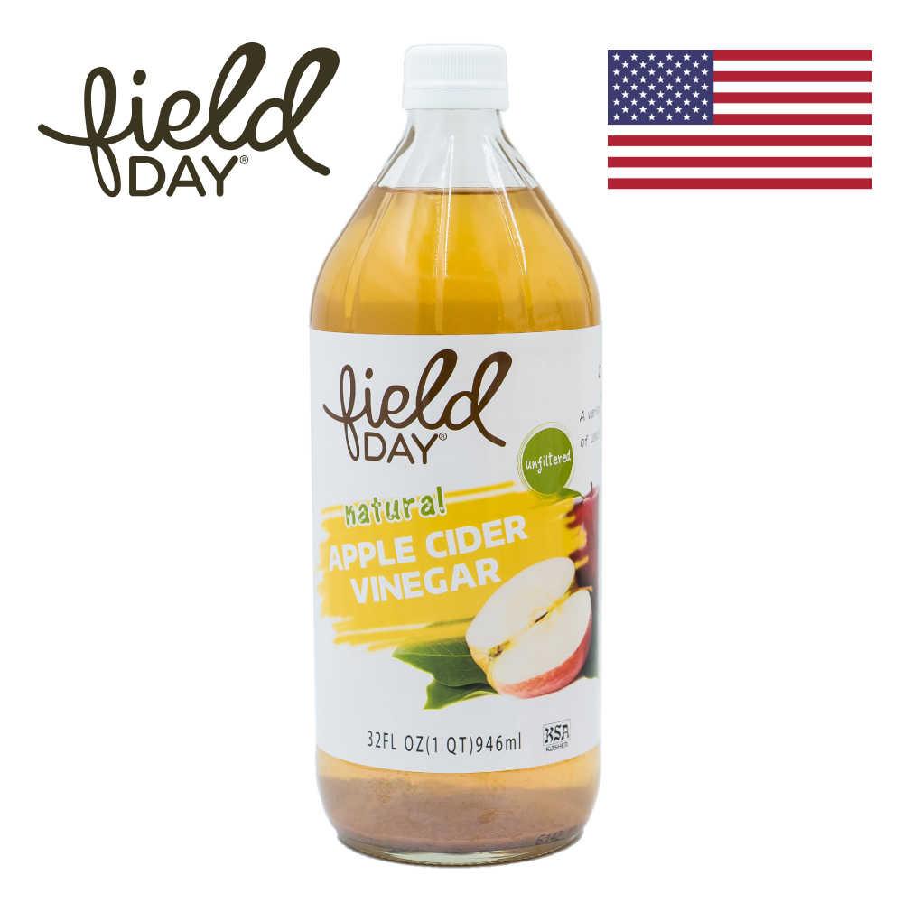 【Field day 踏青日】美國原裝進口 級優蘋果醋 (946mL)