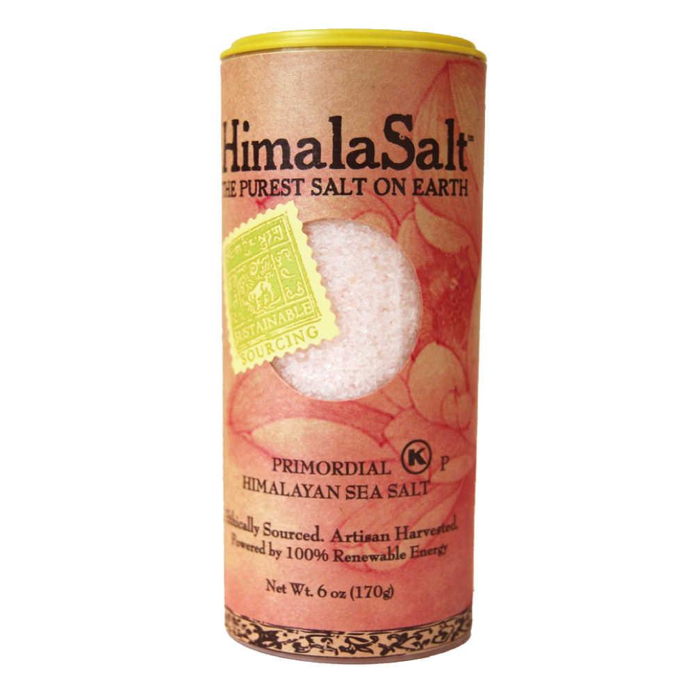 【HimalaSal】美國原裝進口 萬古流香粉紅岩鹽-細鹽罐 (170g)