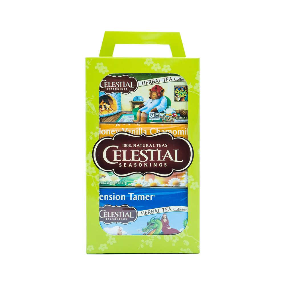 【Celestial Seasonings】美國原裝進口 經典禮盒組 (20入環保包 x 3)