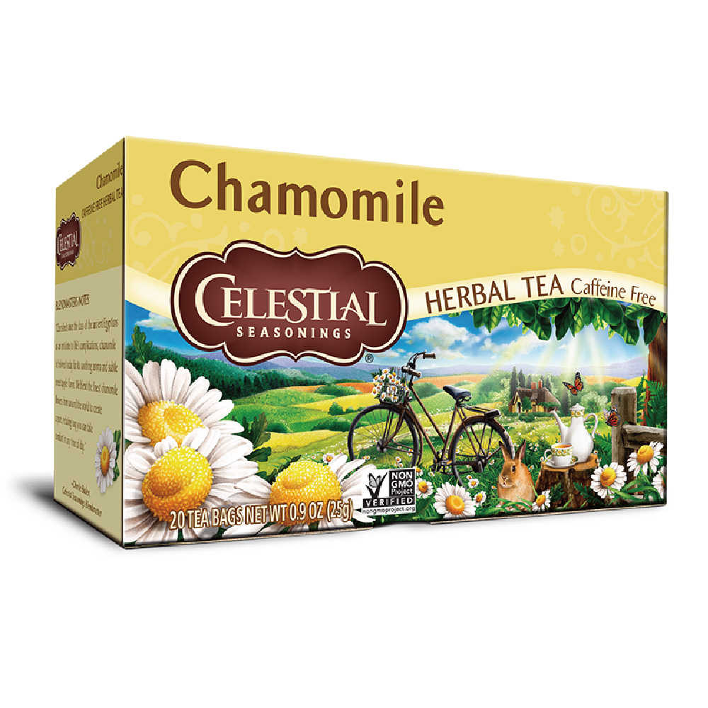【Celestial Seasonings】美國原裝進口 洋甘菊茶 (20入環保包)