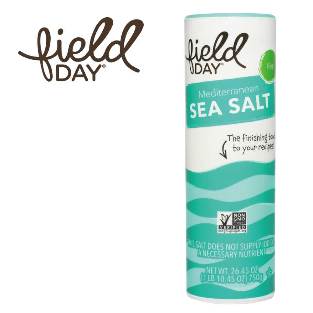 【Field day 踏青日】西班牙原裝進口 地中海天然細海鹽 (750g)