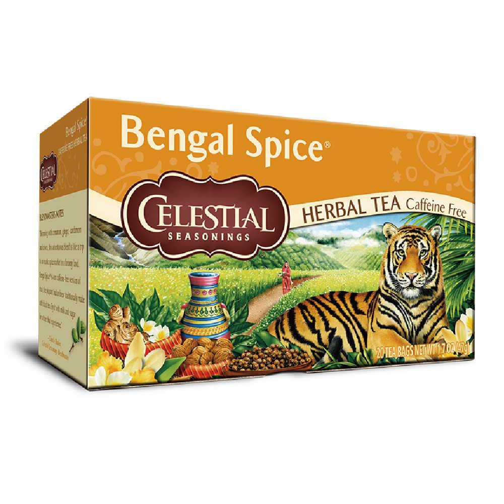 【Celestial Seasonings】美國原裝進口 肉桂香料茶 (20入環保包)
