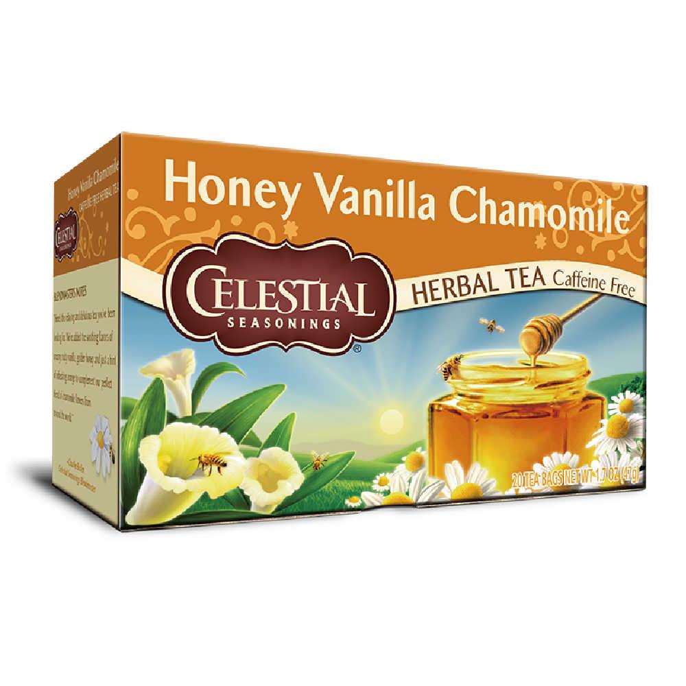 【Celestial Seasonings】美國原裝進口 蜂蜜香草洋甘菊茶 (20入環保包)