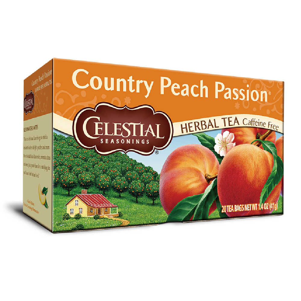 【Celestial Seasonings】美國原裝進口 蜜桃風情茶® (20入環保包)