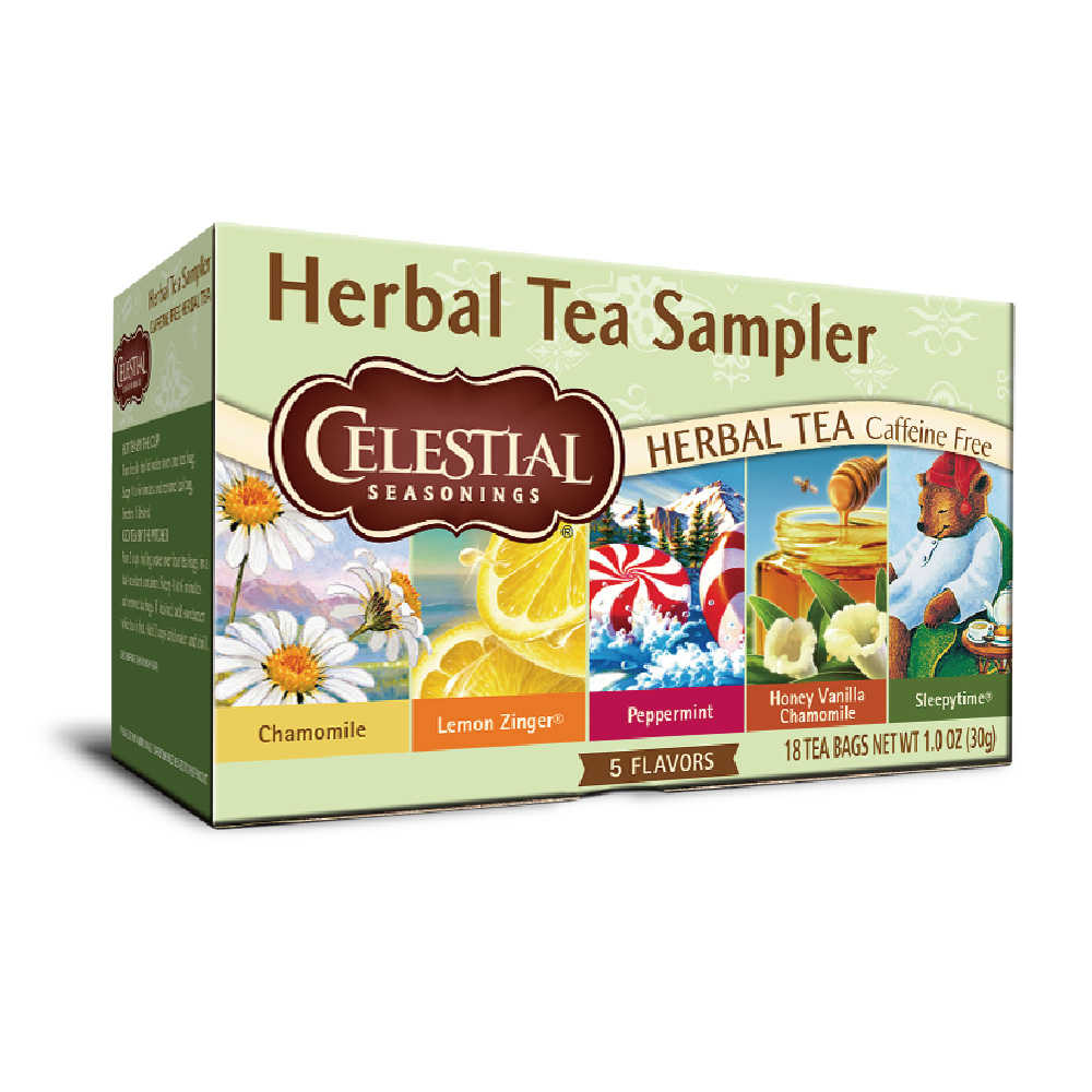 【Celestial Seasonings】美國原裝進口 草本綜合茶 (18入環保包)