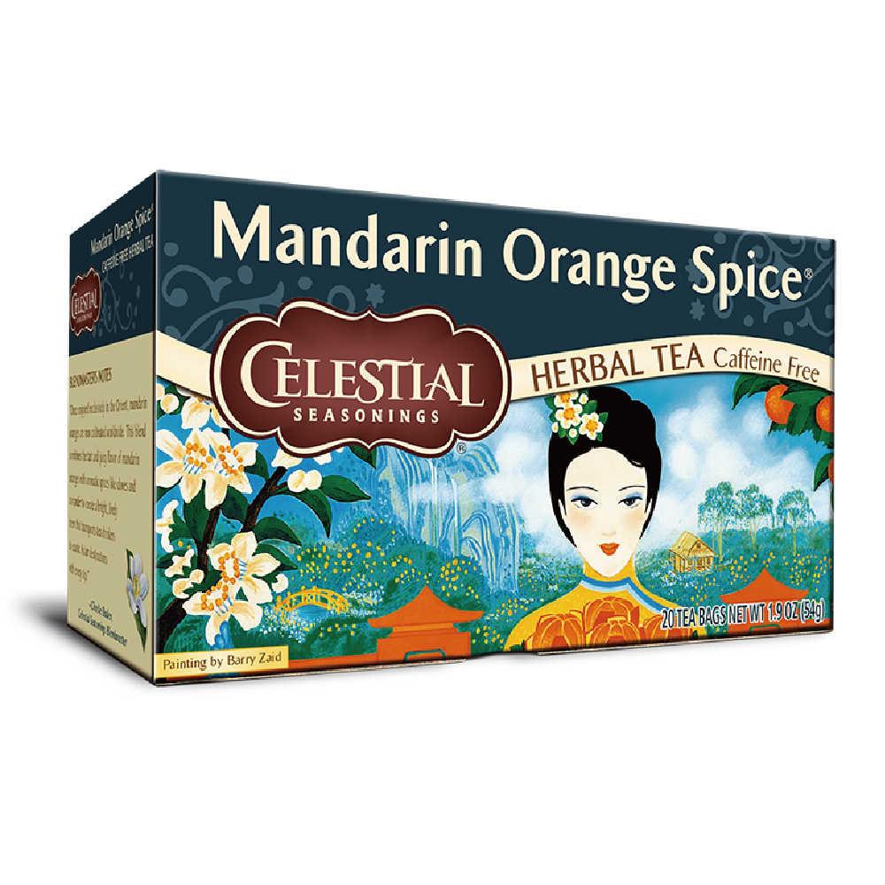 【Celestial Seasonings】美國原裝進口 東方香桔茶® (20入環保包)