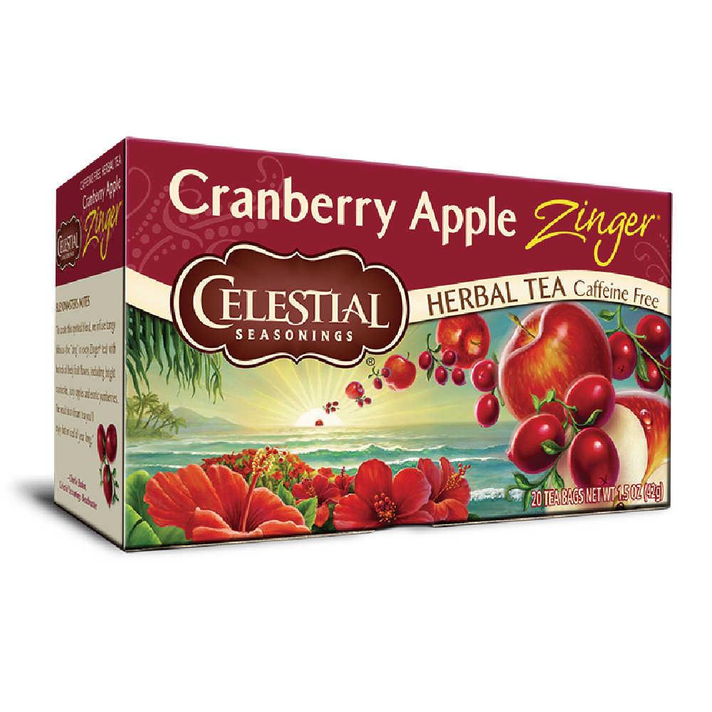 【Celestial Seasonings】美國原裝進口 蔓越莓蘋果活力茶® (20入環保包)