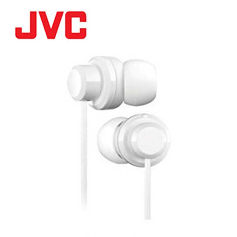 【JVC】HA-FR8 白 耳道式耳機 MIC附麥克風 智慧型手機專用