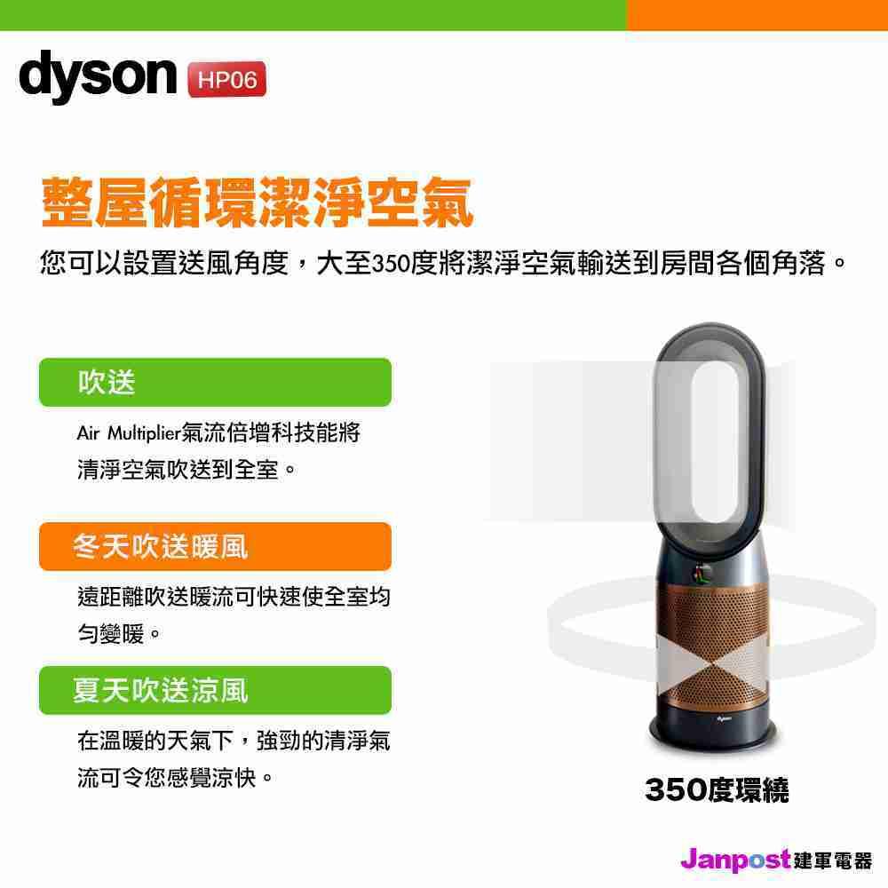 Dyson HP06 Pure Hot+Cool 涼暖空氣清淨機 2年保固