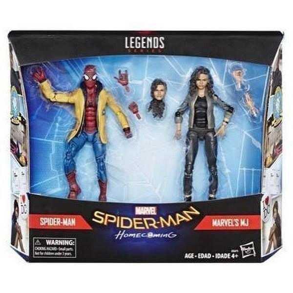 杯麵!# 6月預購! Marvel Legends 孩之寶 6吋 蜘蛛人 離家日 返校日 MJ 雙人
