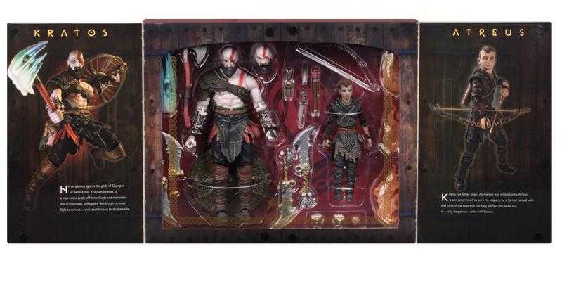 杯麵!現貨! NECA 戰神 God of War (2018) Kratos & Atre