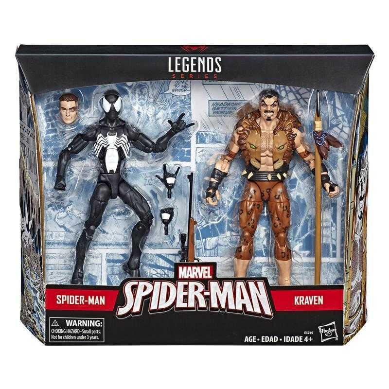 杯麵!# 現貨! 孩之寶 Marvel legends 漫威 蜘蛛人傳奇 蜘蛛人&獵人 6吋可動人偶